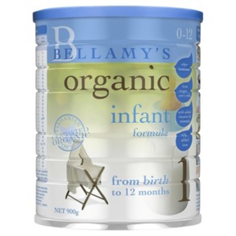 Product: Bellamy's Infant Formula
