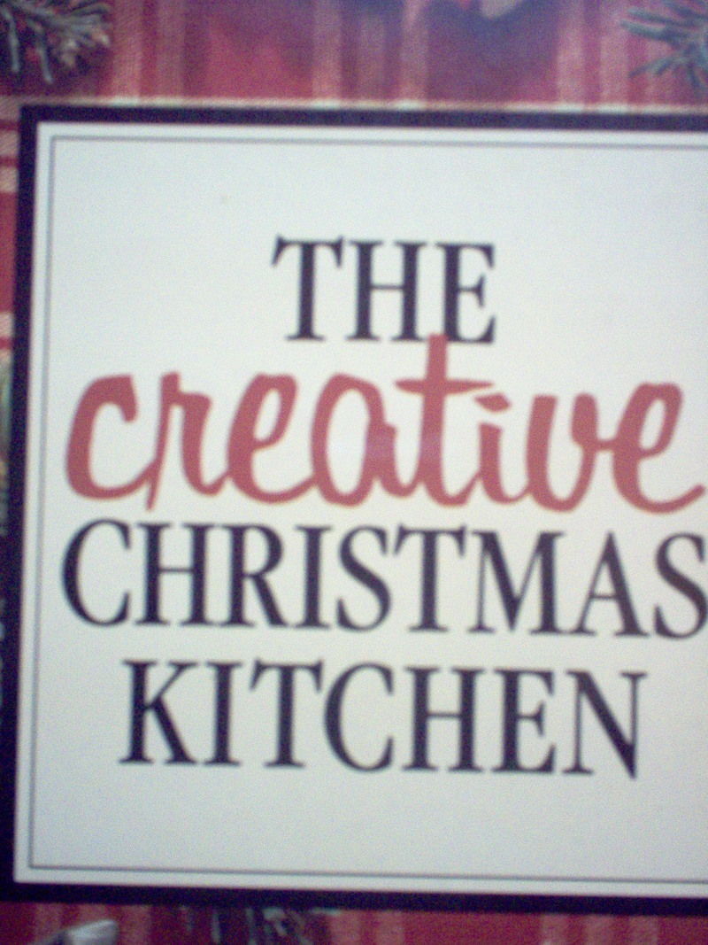 book  - Book Review:  The Creative Christmas Kitchen