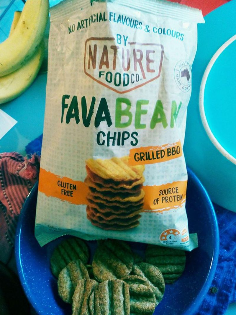 chips, fava beans  - Chips: Fava Bean by Nature Food Co.