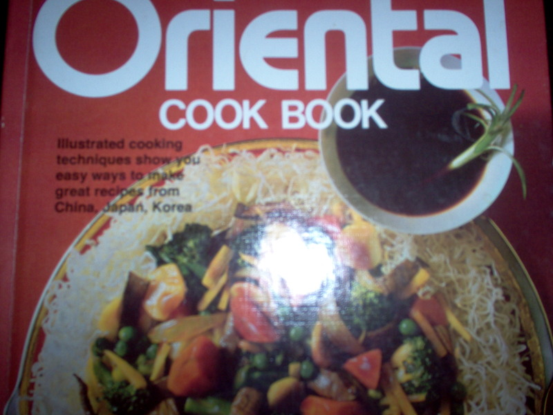 cook book  - Better Homes and Gardens Oriental Cook Book