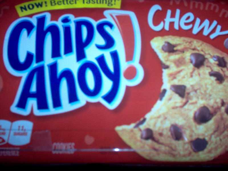 cookies  - Chips Ahoy Chewy