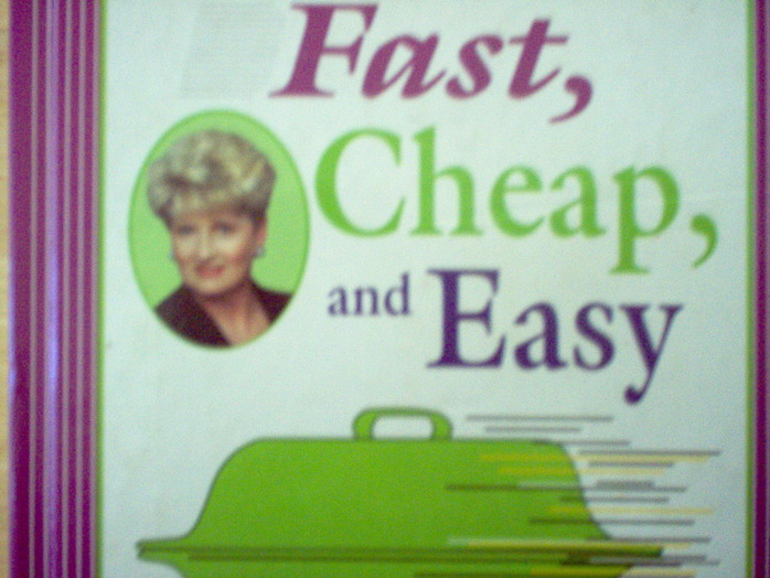 Fast and Easy Cookbook