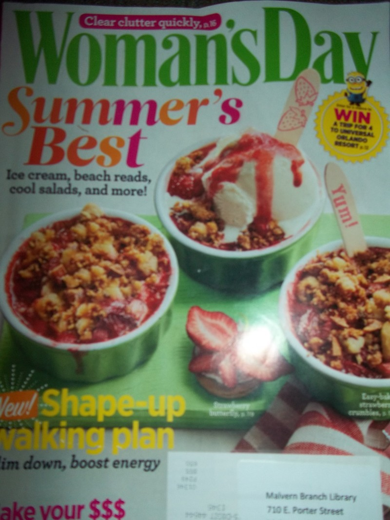 magazine cover  - Magazine Review:  Woman's Day June 2016 Issue