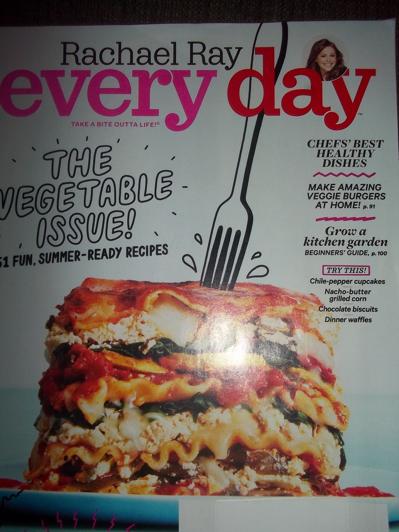 magazine cover  - Rachael Ray Every Day:  June 2016 Issue