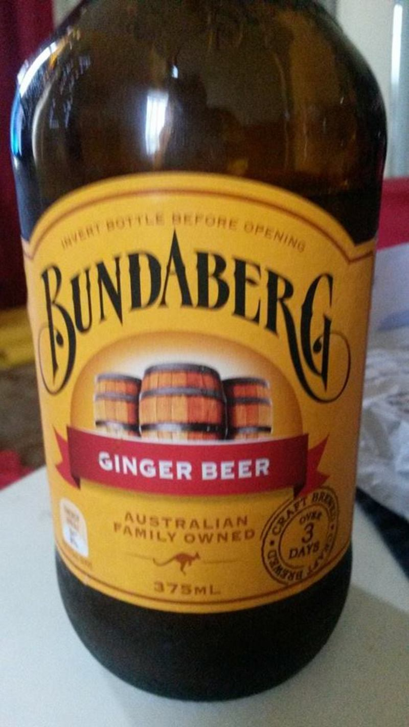 Non Alcoholic Beverage: Ginger Beer