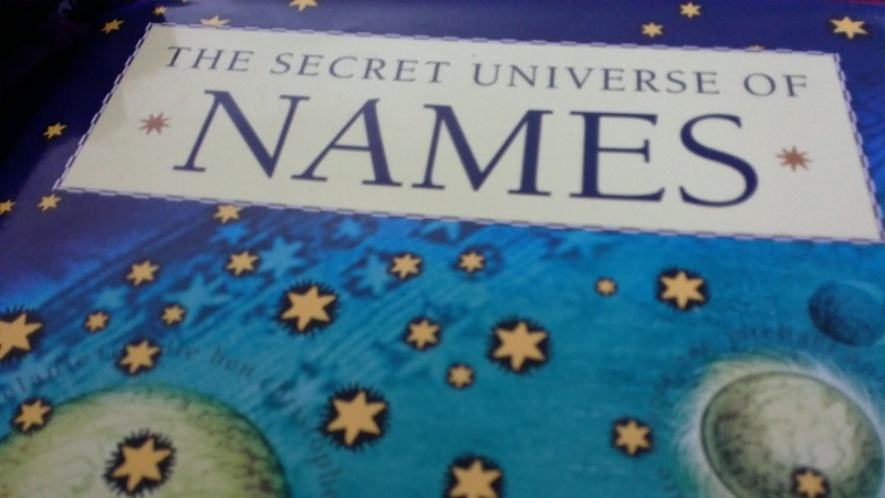 Book Review: The Secret Universe of Names